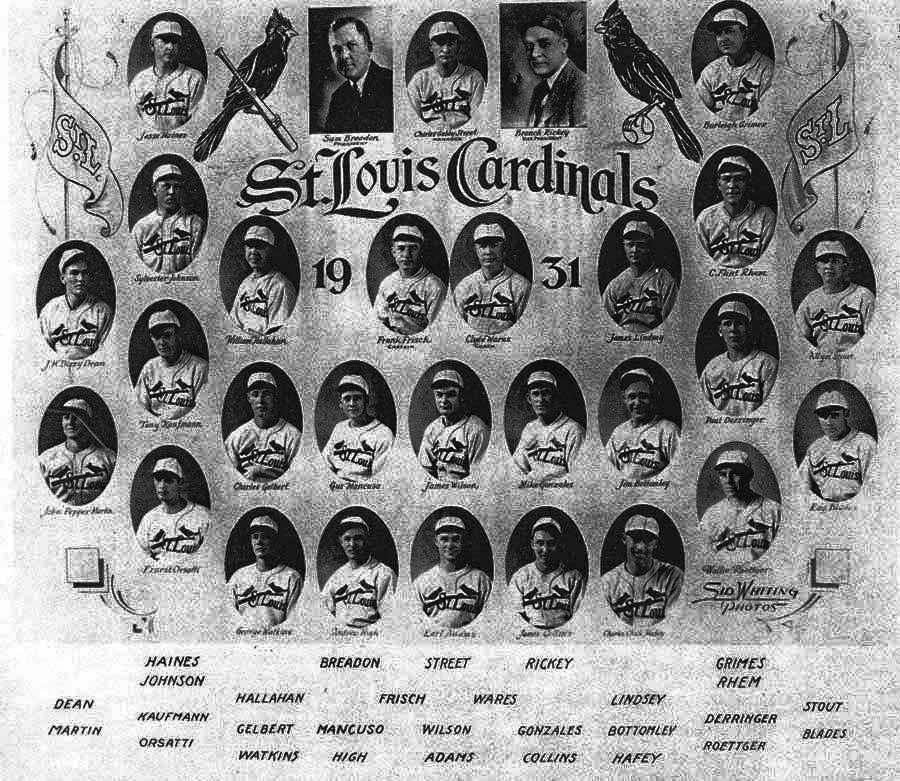 1931 Cardinals