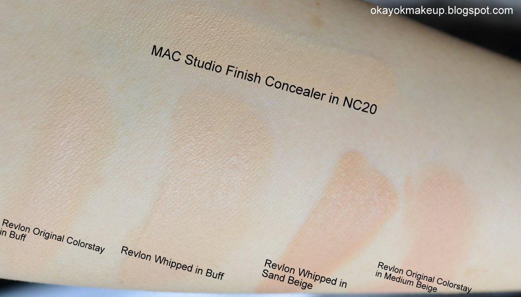 Okay Ok Makeup Revlon Colorstay Whipped Creme Makeup Review Part