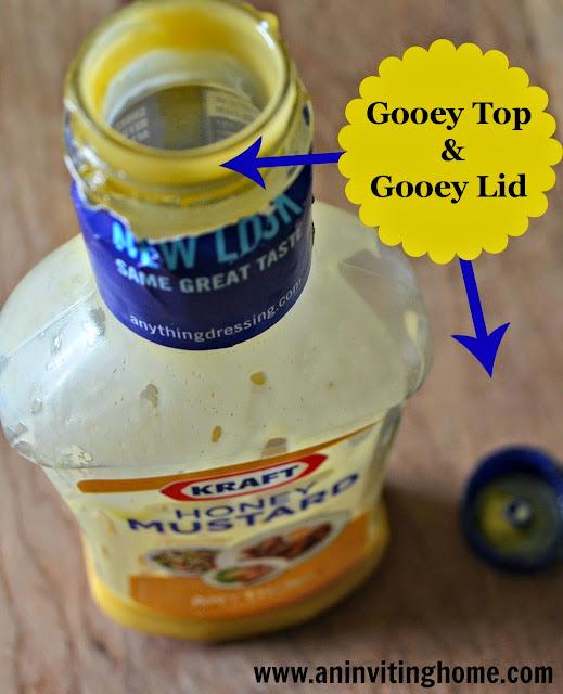 Gooey Salad Dressing Top