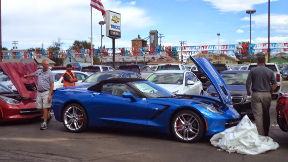 2015 Chevrolet Corvettes Arriving at Purifoy Chevrolet