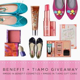 Benefit + Tiamo Contest Giveaway