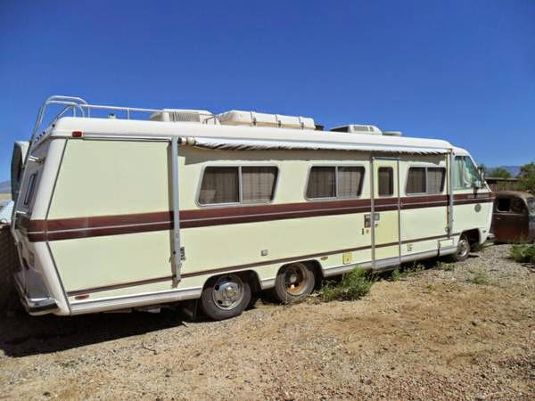 Beautiful Used RVs Restored 1975 Toyota Chinook RV For Sale By Owner