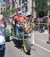 John Deere Biker Guy with Babe