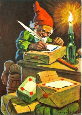 Elf Postcard