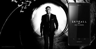 Sony Xperia T Mobile Agent 007 in Skyfall