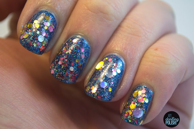 nails, nail polish, indie, indie polish, zoya dream, lynbdesigns iocaine powder, kbshimmer toast-ess with the mostest, hey darling polish, new years nails, sparkles, glitter, shiny
