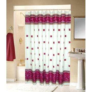 Cortinas de ba o cortinas y persianas for Cortinas para bano modernas