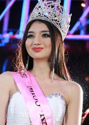 Miss World Kazakhstan 2013 winner Ainur Tolyeuova