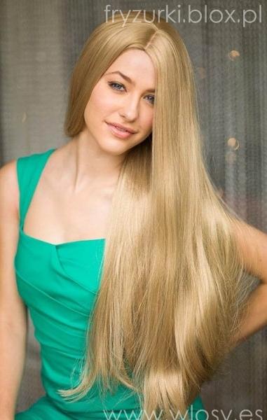 Długie blond włosy 2014 / Blond long 2014 hairstyle