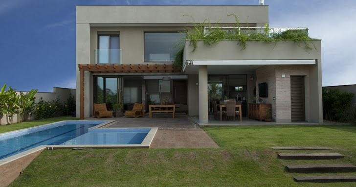Elegant dream home in sao paulo by pupo gaspar arquitetura architecture architectural drawings - The narrow house of sao paolo ...