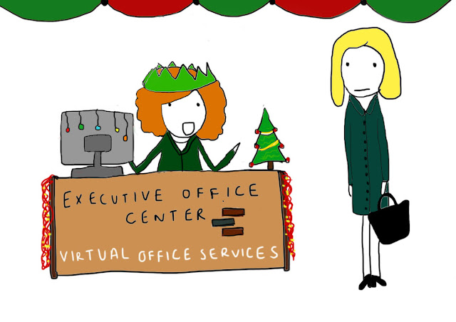 "Blazing a trail through the New York virtual office industry, the Executive  Office Center at Fresh Meadows offers tenants a ""virtual"" boyfriend for the holiday season."