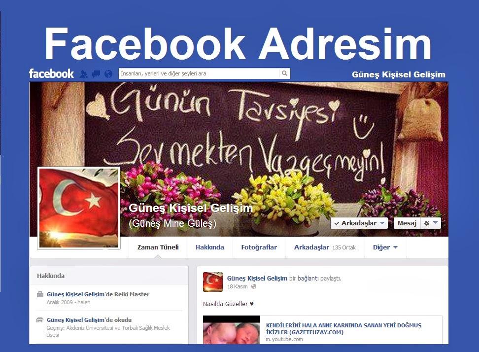 Facebook Hesabım