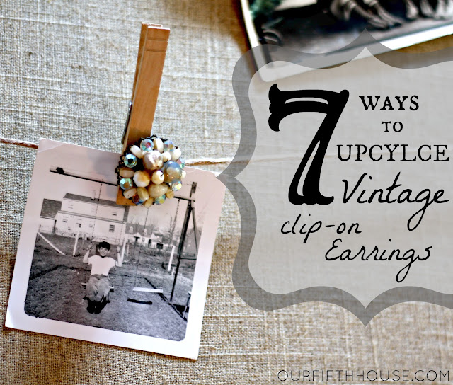 7 ways to upcycle vintage clip-on earrings