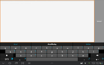 Download SwiftKey 3 Keyboard v 3.1.0.377