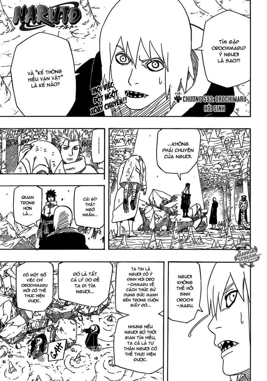 Naruto - Chapter 593 - Pic 1