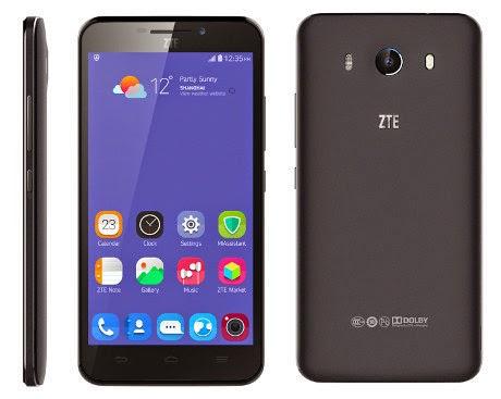 ZTE Grand S3, Smartphone Biometrik Pemindai Mata