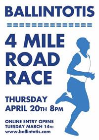 Big 4 mile race nr Castlemartyr...Thurs 20th Apr 2017
