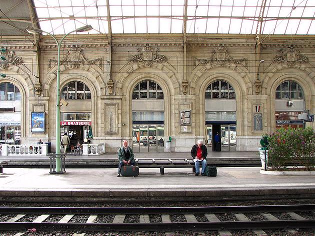 Gay French Riviera: Nice Train Station - Gare de Nice Ville
