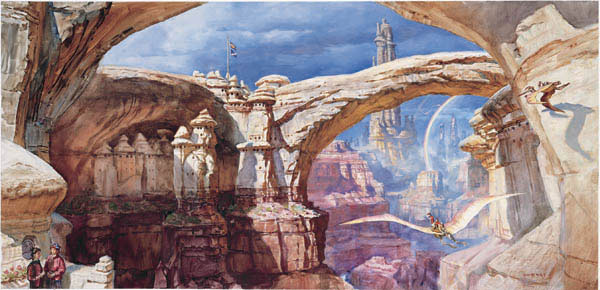 Dinotopia:A land apart from time.