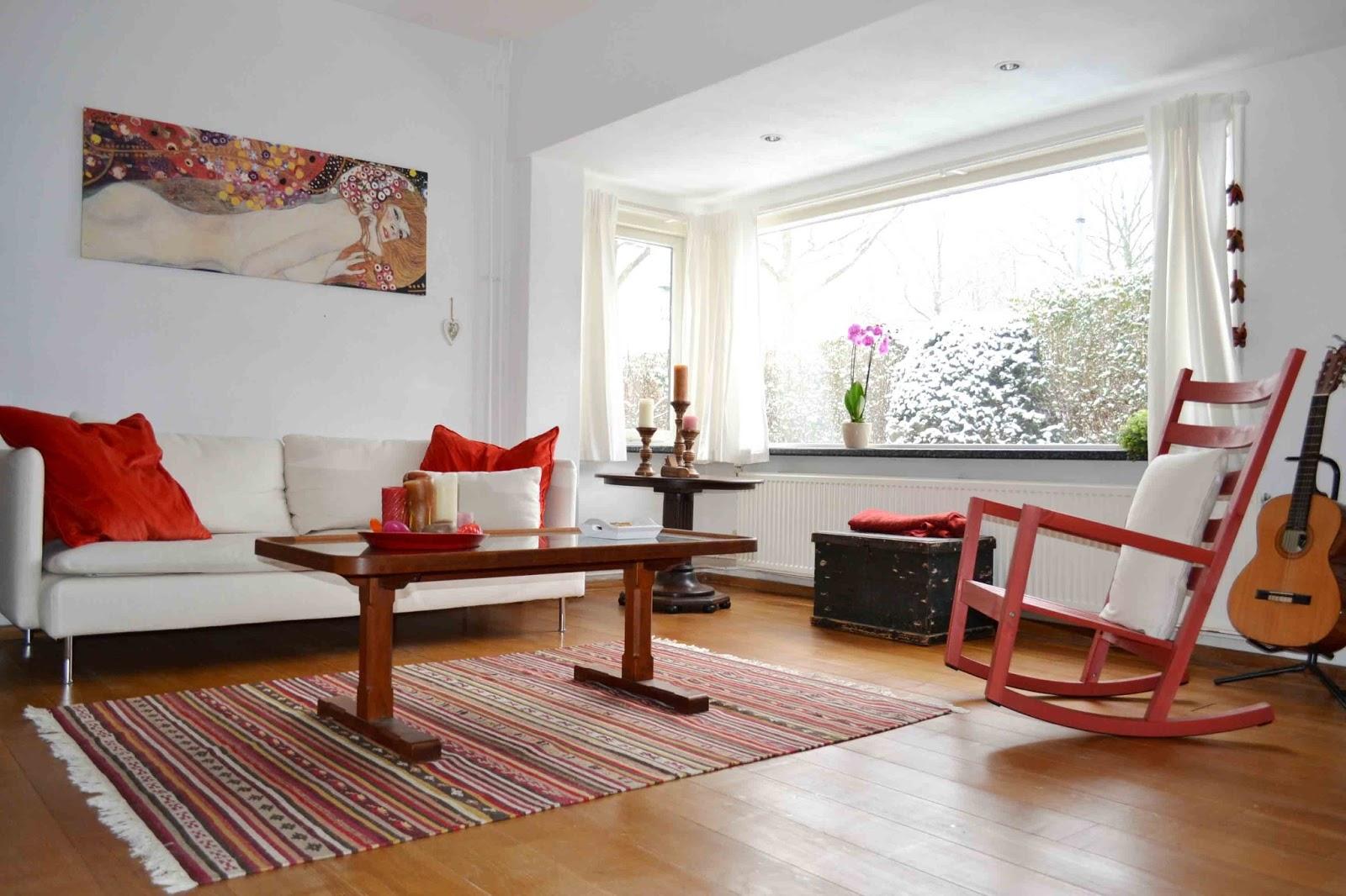 Interieur Inspiratie Gezellig interieur, ga voor een schommelstoel ...