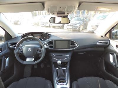 Peugeot 308 - wnętrze