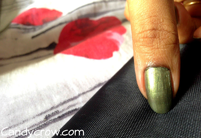 Maybelline Express Finish Khaki Green Review
