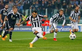 Juventus Incar Gol Sebanyaknya di Bernabeu