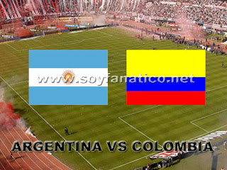 Argentina vs Colombia 07/06/2013 Eliminatorias