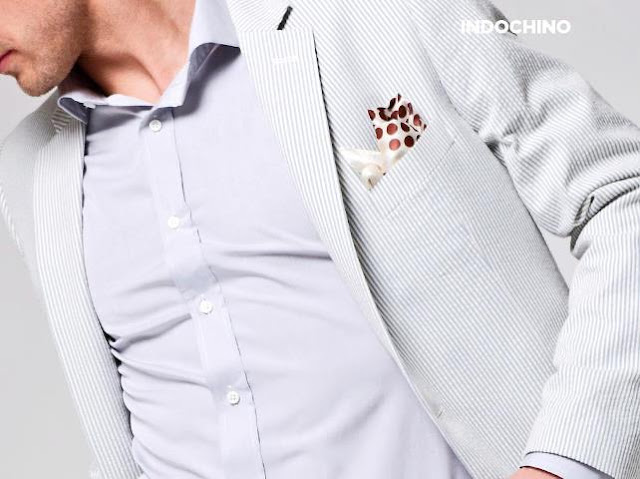 Indochino Seersucker Suit and Blazer