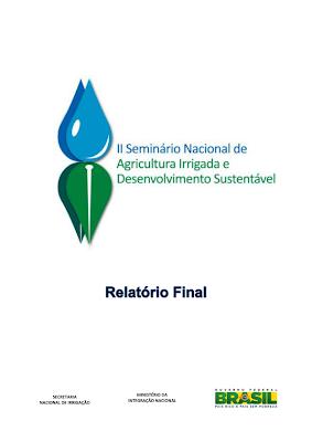 Relatório final: II Seminário Nacional de Agricultura e  Desenvolvimento Sustentável