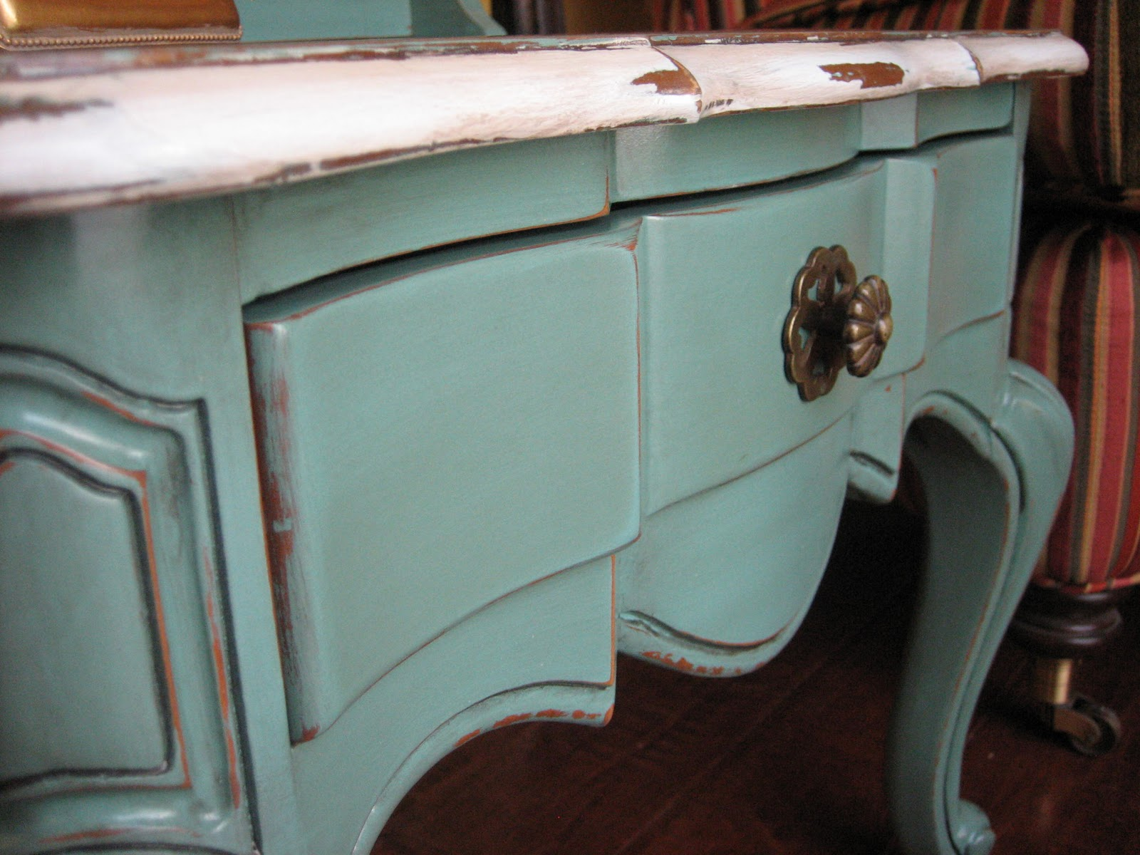 French provincial furniture painted turquoise trend home design and