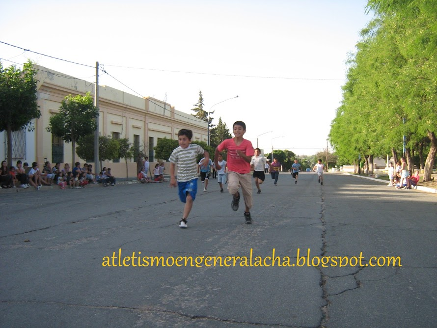 El Atletismo en General Acha