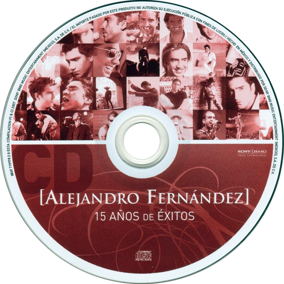 Alejandro fern ndez 2007 15 a os de xitos mp3 for Alejandro fernandez en el jardin mp3