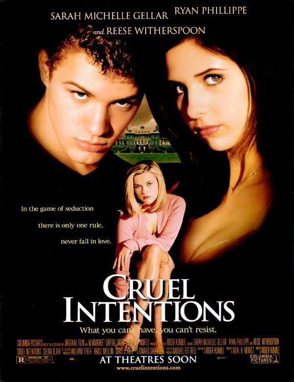 Cruel Intentions 1999 poster