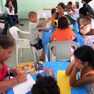 Famílias do DF participam do primeiro dia de atividades de projeto-piloto do UNODC para prevenção do uso de drogas