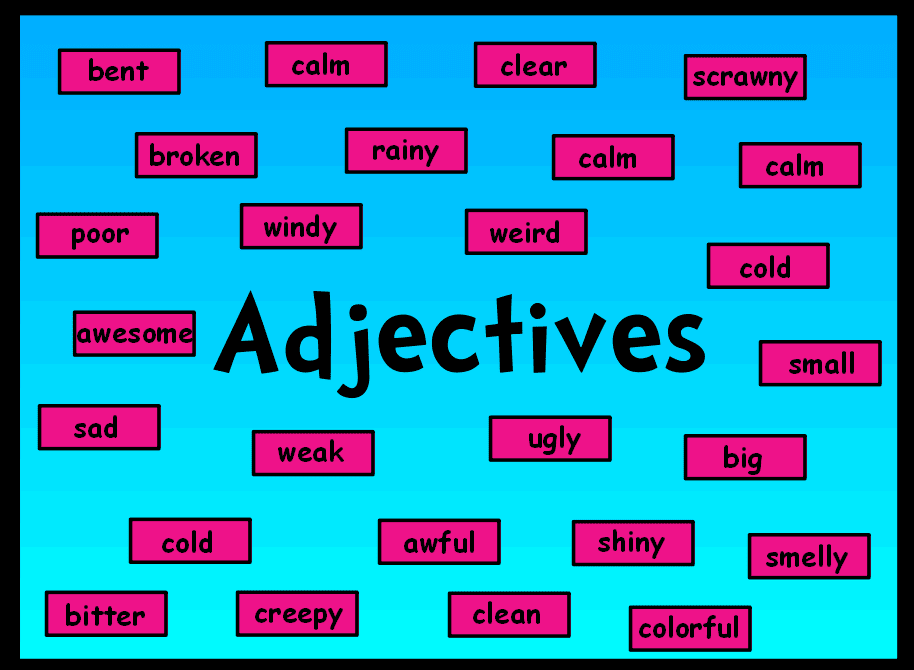 adjectives adverbs with images 183 ndogan 183 storify