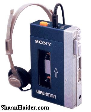 The first SONY Walkman 1979