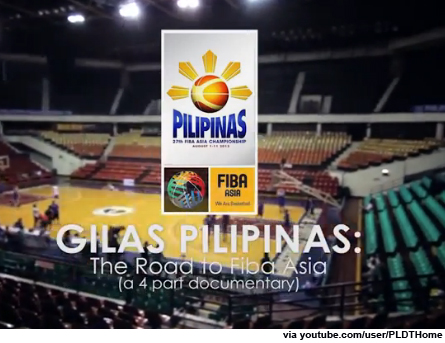 Gilas Pilipinas: The Road to FIBA Asia (Teaser Videos)