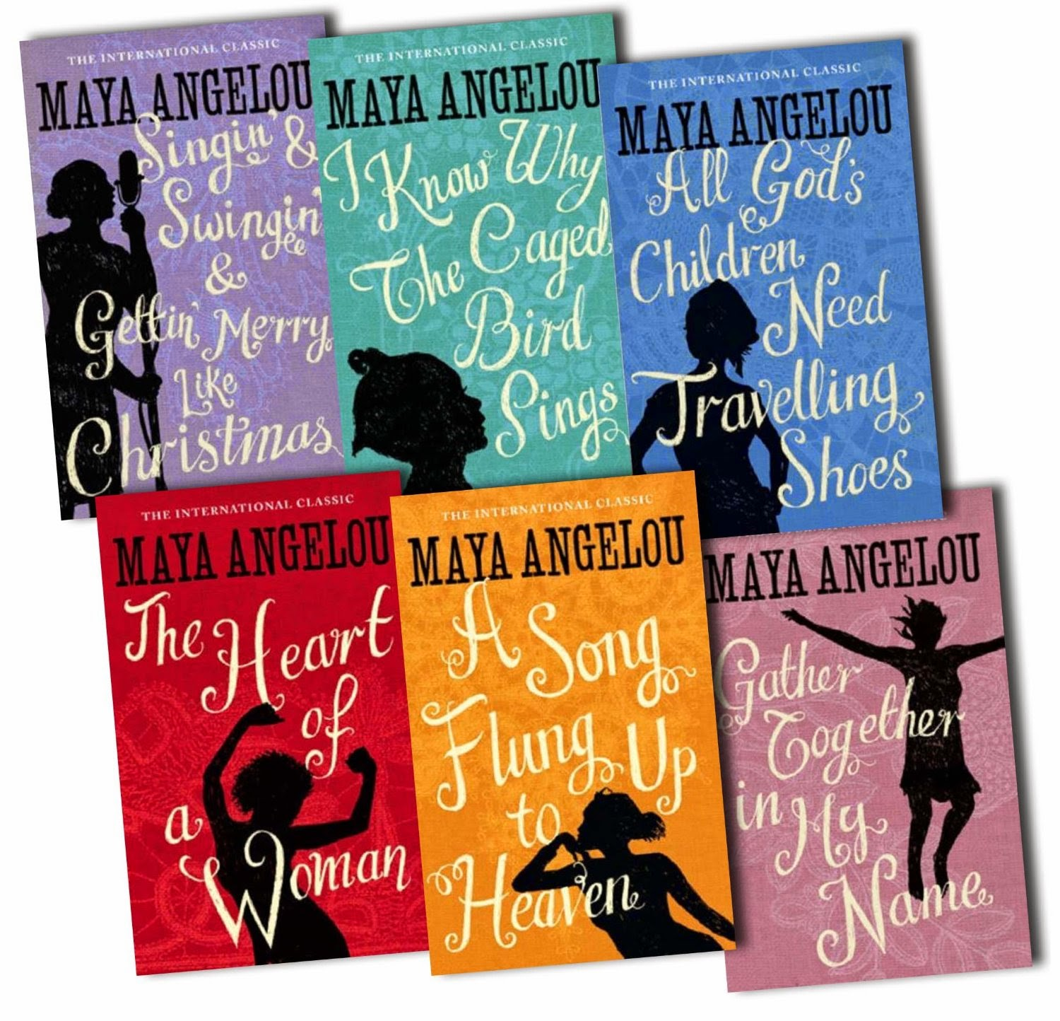 a report on the writings of maya angelou The collected autobiographies of maya angelou maya angelou: a glorious celebration children life doesn't frighten me my painted house, my friendly chicken, and me.