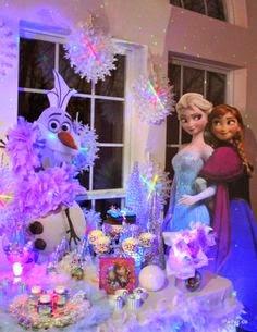 Fiestas Infantiles Decoradas con Frozen, parte 2