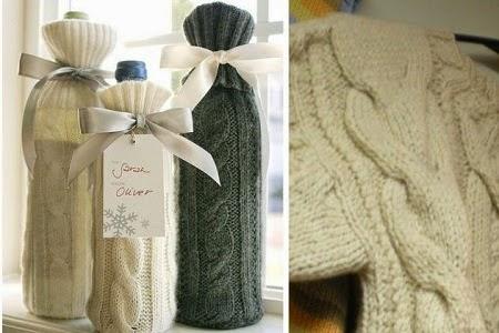 Ideas para Reciclar Ropa de Lana para Navidad