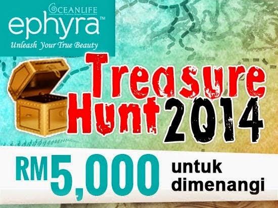 Treasure Hunt Ephyra Sempena Jom Heboh Putrajaya