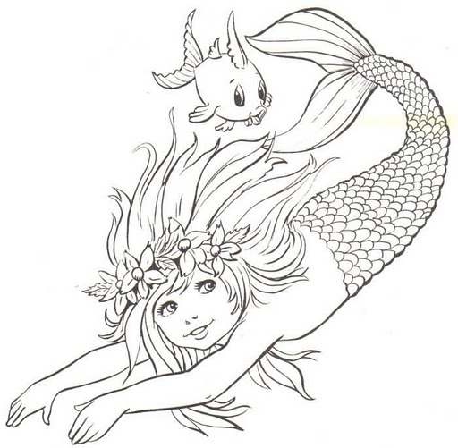 Dibujos para colorear: Animales fantásticos para colorear