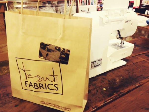 Tessuti Fabrics Sew Inn Class