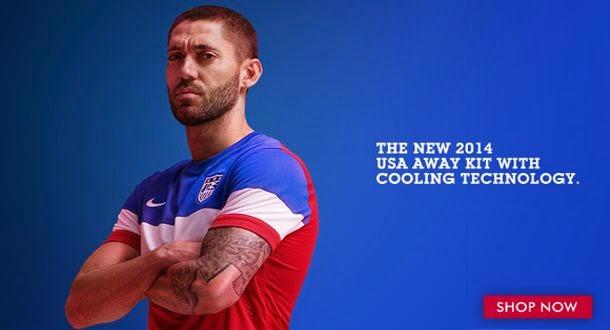 USA 2014 Away