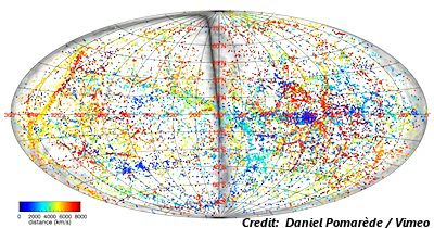 3-D Map Of Universe Shows Positions Of Known Galaxies In Unprecedented Detail (Still)