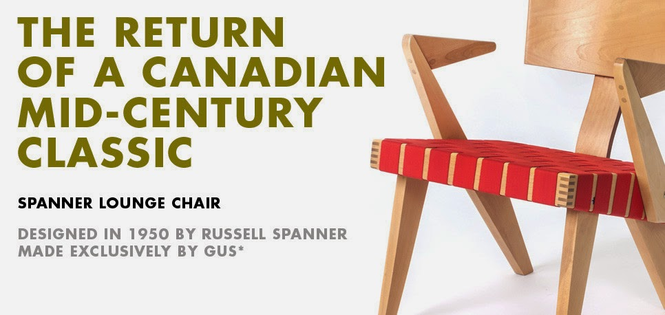 Originally Created In 1950 By Russell Spanner, The Spanner Lounge Chair  With Arms Has Become A Classic Of Canadian Mid Century Modern Furniture  Design.