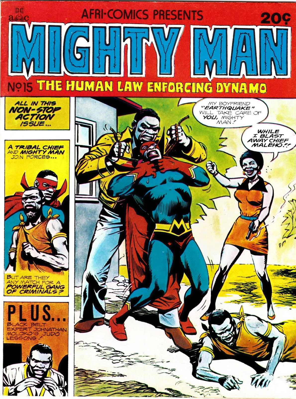 South African Comic Books: Afri-Comics Mighty Man 15
