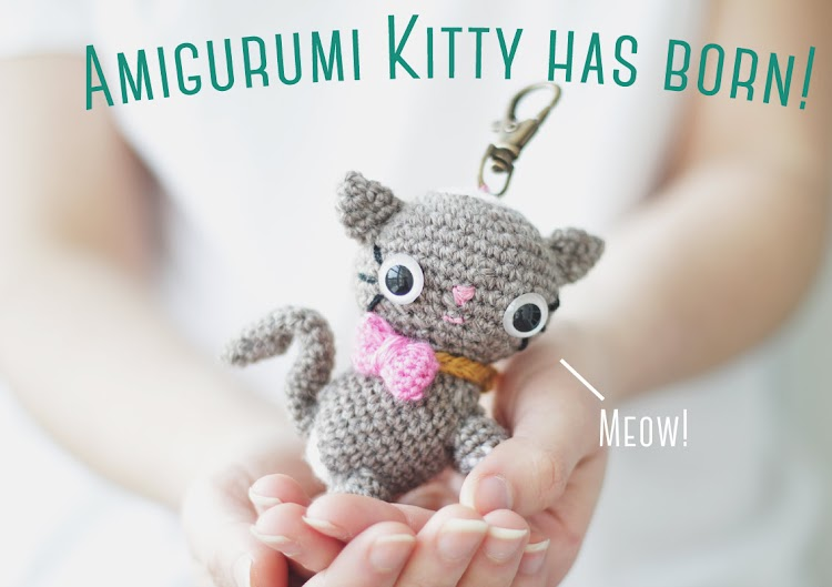 Amigurumi Cat Kitty premium pattern by The Sun and the Turtle
