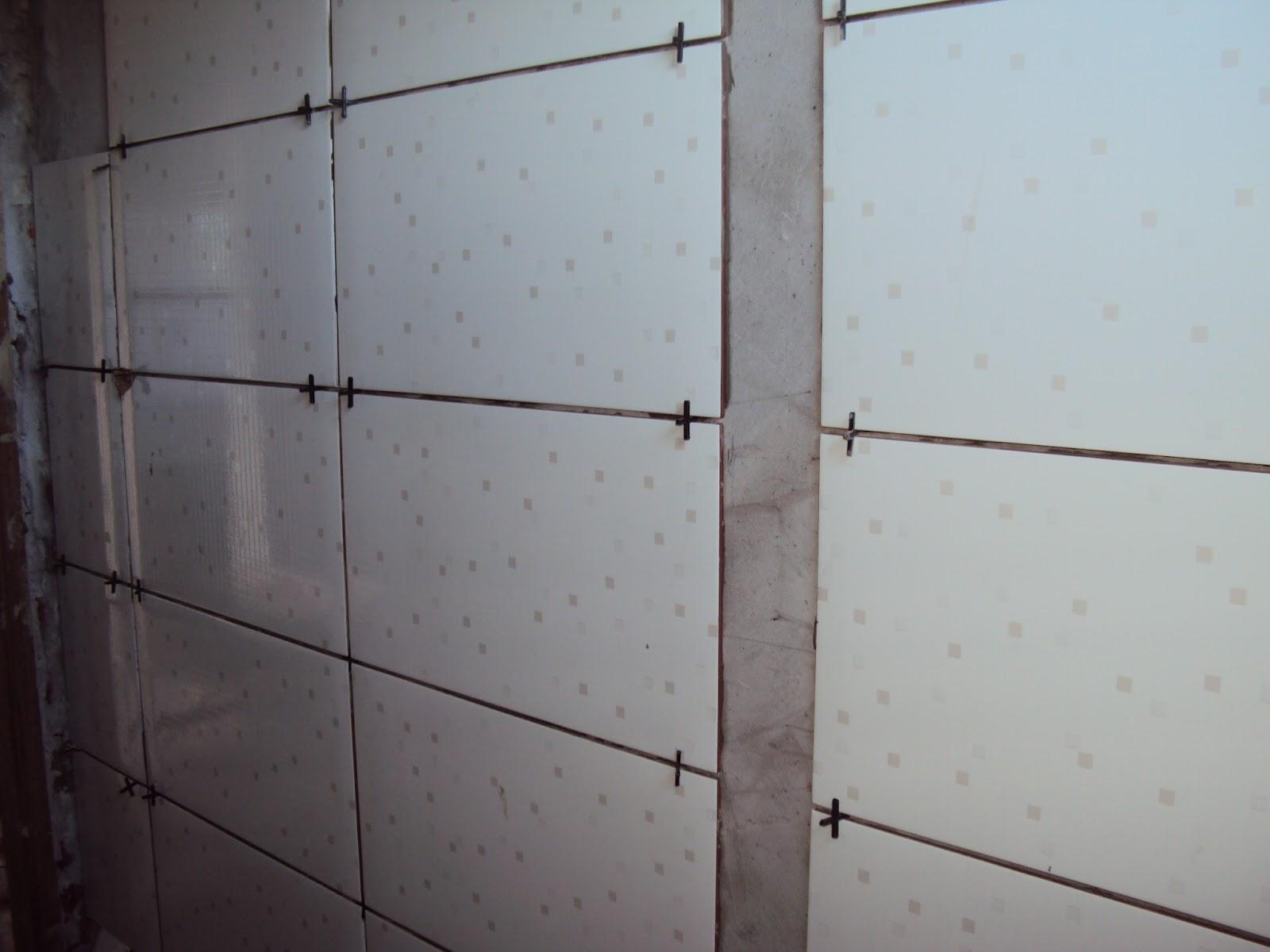 Construindo : Revestimento Banheiro e Fiação Elétrica #5B6970 1600 1200